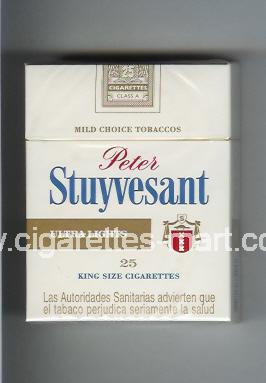 Peter Stuyvesant (design 2) (Ultra Lights) ( hard box cigarettes )