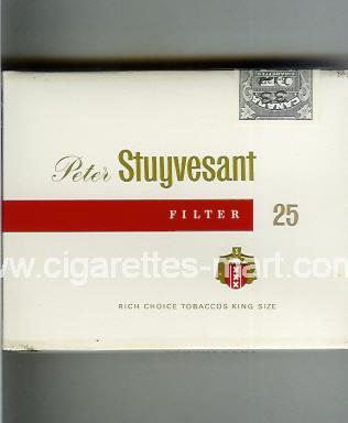 Peter Stuyvesant (design 3) (Filter) ( box cigarettes )