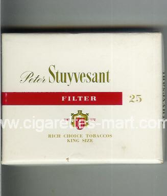 Peter Stuyvesant (design 3A) (Filter) ( box cigarettes )