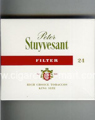 Peter Stuyvesant (design 3B) (Filter) ( box cigarettes )