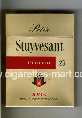 Peter Stuyvesant (design 3B) (Filter) ( hard box cigarettes )