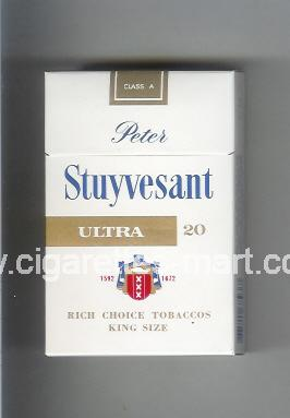 Peter Stuyvesant (design 3B) (Ultra) ( hard box cigarettes )