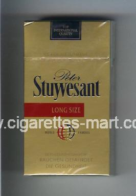 Peter Stuyvesant (design 4) ( hard box cigarettes )