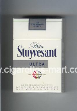 Peter Stuyvesant (design 4) (Ultra) ( hard box cigarettes )