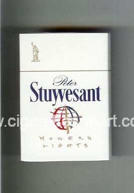 Peter Stuyvesant (design 4A) (Modern Lights) ( hard box cigarettes )