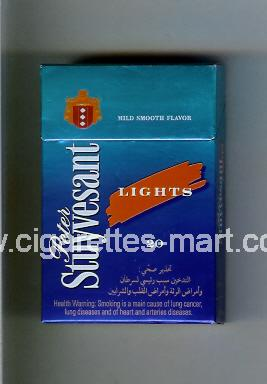 Peter Stuyvesant (design 5) (Lights) ( hard box cigarettes )