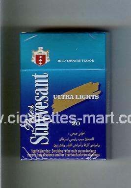 Peter Stuyvesant (design 5) (Ultra Lights) ( hard box cigarettes )