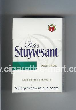 Peter Stuyvesant (design 6) Menthol ( hard box cigarettes )