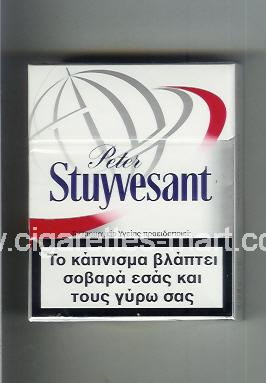 Peter Stuyvesant (design 6B) ( hard box cigarettes )