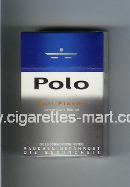 Polo (german version) (design 3) (Full Flavor / American Blend) ( hard box cigarettes )