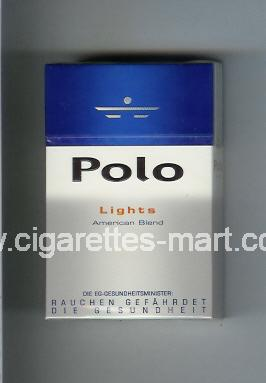 Polo (german version) (design 3) (Lights / American Blend) ( hard box cigarettes )