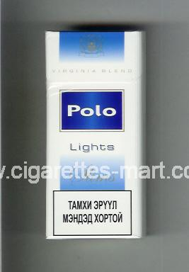 Polo (german version) (design 4) (Lights / Slims / Virginia Blend) ( hard box cigarettes )