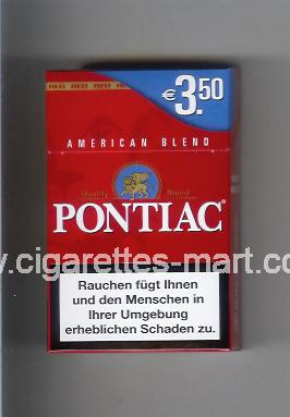 Pontiac (American Blend / Quality Blend) ( hard box cigarettes )