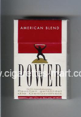 Power (german version) (design 1) (American Blend) ( hard box cigarettes )
