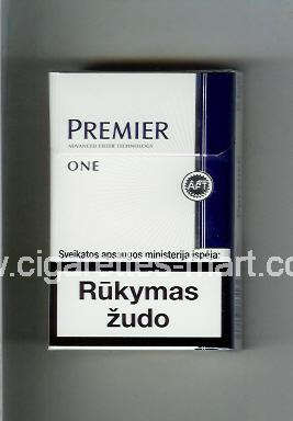 Premier (german version) (design 2) (One) ( hard box cigarettes )