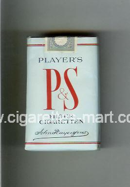 P&S (design 1) Player's ( soft box cigarettes )