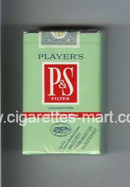 P&S (design 2) Player's ( soft box cigarettes )