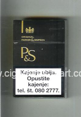 P&S (design 3) ( hard box cigarettes )