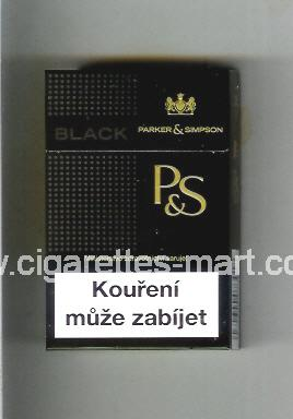 P&S (design 3A) (Black) ( hard box cigarettes )