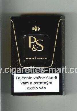 P&S (design 3B) ( hard box cigarettes )