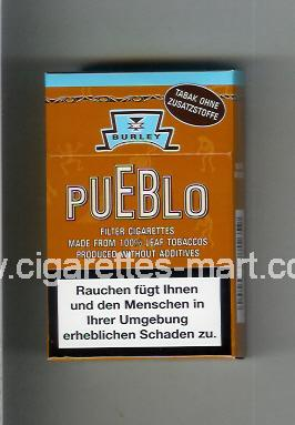Pueblo (Burley) ( hard box cigarettes )