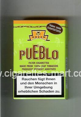 Pueblo (Green) ( hard box cigarettes )