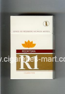 R 1 (design 1) ( hard box cigarettes )