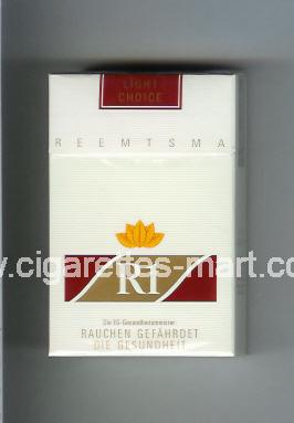 R 1 (design 2) (Light Choice) ( hard box cigarettes )