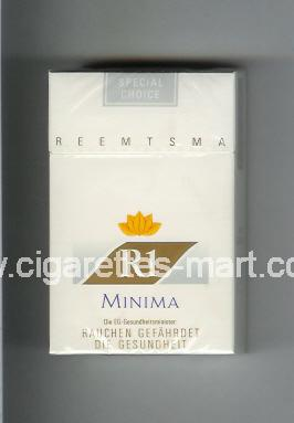 R 1 (design 2) (Minima / Special Choice) ( hard box cigarettes )
