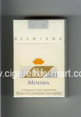 R 1 (design 2) (Minima / Ultimate Light) ( hard box cigarettes )