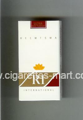 R 1 (design 2) (Ultra Rich Flavour / International) ( hard box cigarettes )