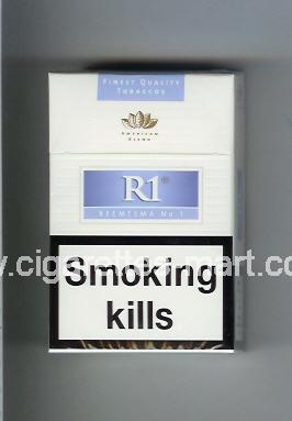 R 1 (design 3) (American Blend) ( hard box cigarettes )