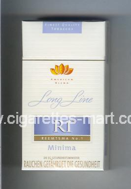R 1 (design 3) (American Blend / Minima / Long Line) ( hard box cigarettes )