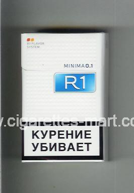 R 1 (design 6) (Minima 0,1) ( hard box cigarettes )