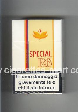 R 6 (design 3A) (Special) ( hard box cigarettes )