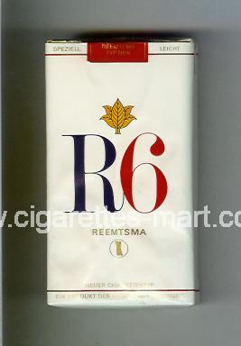 R 6 (design 4) ( soft box cigarettes )
