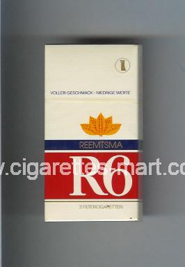 R 6 (design 5) ( hard box cigarettes )