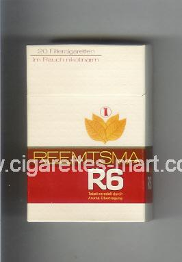 R 6 (design 6) ( hard box cigarettes )