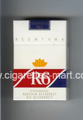 R 6 (design 7) (Aromatisch Mild) ( hard box cigarettes )