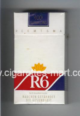 R 6 (design 7) ( hard box cigarettes )