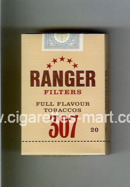 Ranger (german version) 307 (Filters / Full Flavour Tobaccos) ( hard box cigarettes )