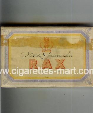 Rax (Nestor Gianadis) ( box cigarettes )