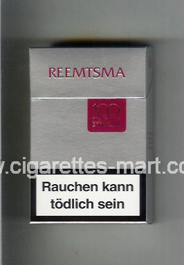 Reemtsma (design 2) (100 Jahre) ( hard box cigarettes )
