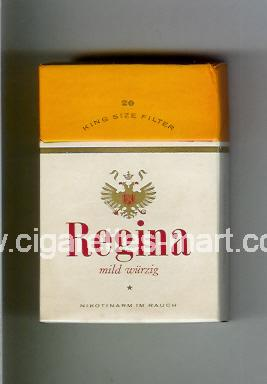 Regina (german version) (Mild Wurzig) ( hard box cigarettes )