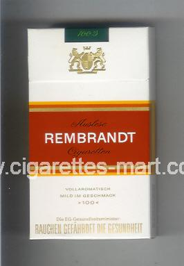 Rembrandt (german version) ( hard box cigarettes )