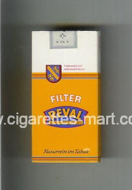 Reval (design 1) (Filter / Cigaretten / Naturrein im Tabak) ( hard box cigarettes )