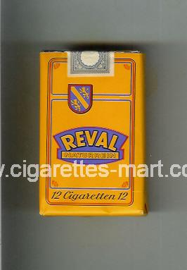 Reval (design 2) (Naturrein / Cigaretten) ( soft box cigarettes )