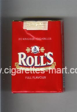 Roll`s (design 1) (American Blend / Full Flavour) ( soft box cigarettes )