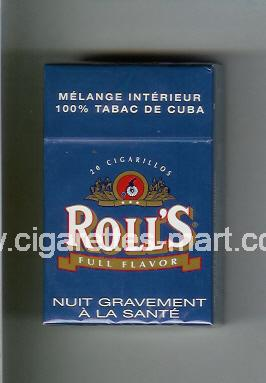 Roll`s (design 1A) (Full Flavor) ( hard box cigarettes )