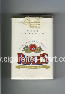 Roll`s (design 1A) (Full Flavour / American Blend) ( soft box cigarettes )